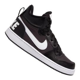 Nike Court Borough Mid Pe (GS) Jr BV1607-001 sko sort