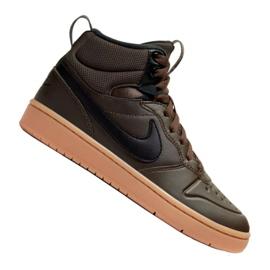 Nike Court Borough Mid 2 Boot (GS) Jr BQ5440-200 sko sort