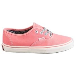 SHELOVET pink Behagelige sneakers