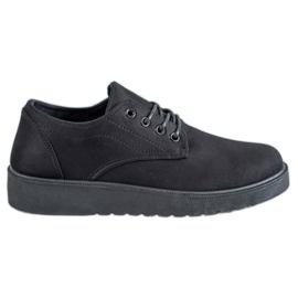 SHELOVET sort Suede sko