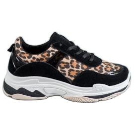 Kylie Leopard Print sneakers
