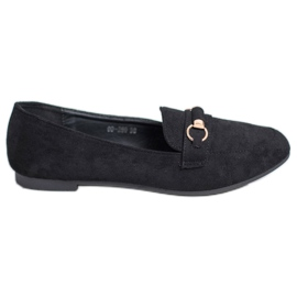 Nio Nio sort Suede loafers