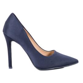 Diamantique Klassiske marineblå hæle
