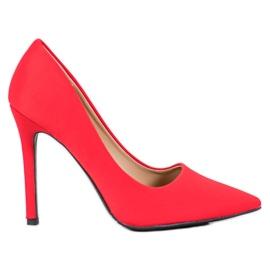 Diamantique Klassiske røde høje hæle