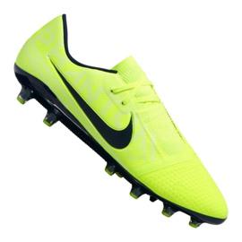 Nike Phantom Vnm Pro AG-Pro M AO0574-717 gule sko