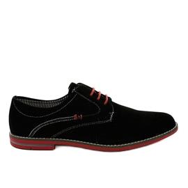 Sorte elegante sko 6-688