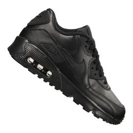 Nike Air Max 90 Ltr Gs Jr 833412-001 sko sort