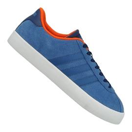 Blå Adidas Vl Court Vulc M AW3963 sko