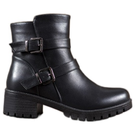 Abloom Eco-læderarbejdere sort