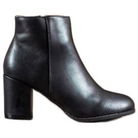 SHELOVET sort Klassiske ankelstøvler