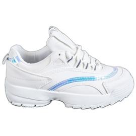 SHELOVET Trendy Hvide Sneakers