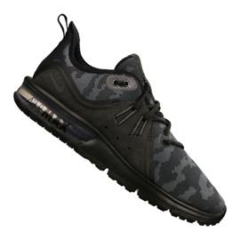 Sort Nike Air Max Sequent 3 Prm Cmo M AR0251-002 sko
