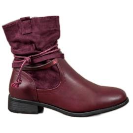 Anesia Paris rød High Boots
