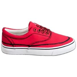 Bestelle Moderigtige sneakers rød