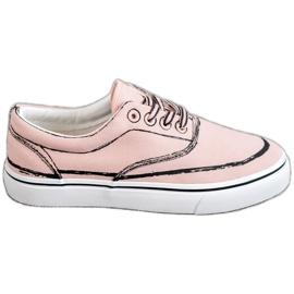 Bestelle Moderigtige sneakers pink