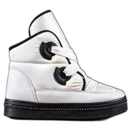RTX WALK hvid Sne støvler med krystaller