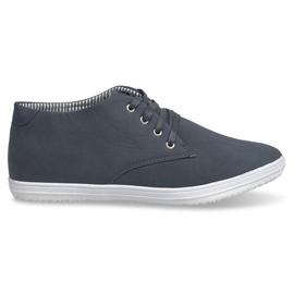 Trendy høje sneakers 3232 Navy