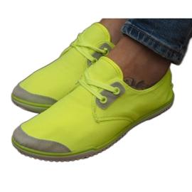 Snøre sneakers Lycra 1603 Gul
