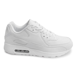 Sort Sport Sneakers Trainers Z2140 White
