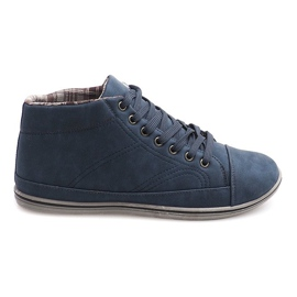 Trendy høje sneakers TL364 Navy