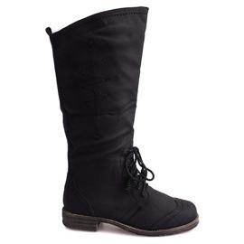 Jazz High Boots 7-1GN016A Sort