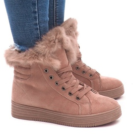 Isolerede sneakers AB-14 Pink