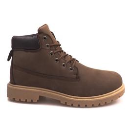 Isolerede støvler ZY1609-1 Brun