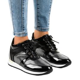 Sorte sneakers S0054-1