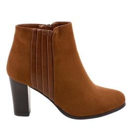 Kvinders brune støvler fra K93 ruskind