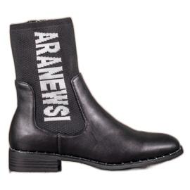 Sort VINCEZA høje støvler