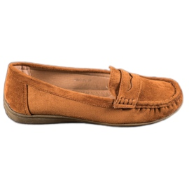 Sixth Sense brun Suede loafers