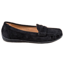 Sixth Sense Suede loafers sort