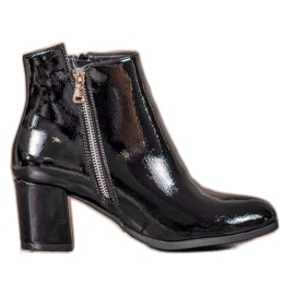 Lakkerede VINCEZA-støvler sort