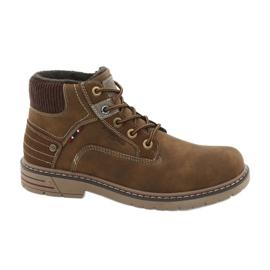 American Club CY37 læder trekkingsko brun