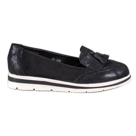Bestelle Platform loafers sort