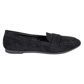 Cm Paris Suede loafers sort