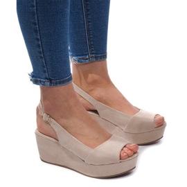 Brun Kile sandaler 3H096 Beige