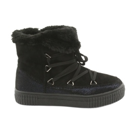 American Club Sorte Eskimo-støvler