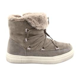 American Club Taupe Eskimo-støvler brun