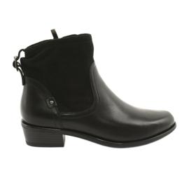 Caprice damestøvler 25335 sort