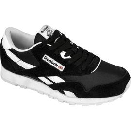 Sort Reebok Classic Nylon Jr J21506 sko