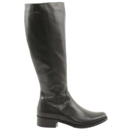 Arka Sorte støvler støvler 7447