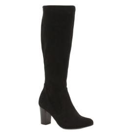 Caprice stretch kvinders støvler sort