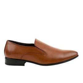 Brun elegante loafers 6-317