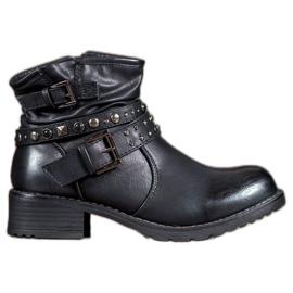 Evento Rock støvler kvinder sort