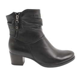 Caprice 25347 lynlås sorte støvler