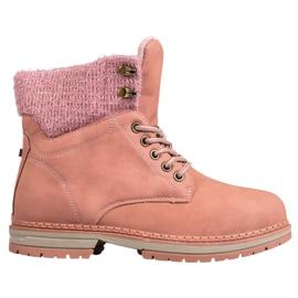 SHELOVET Fældere med glitter pink