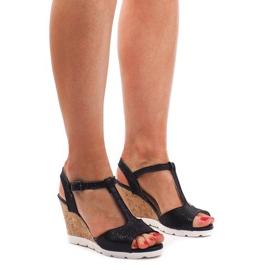 Kile sandaler YH2709 Sort