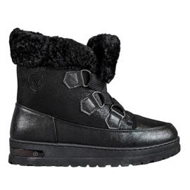 Varme snestøvler fra MCKEYLOR sort