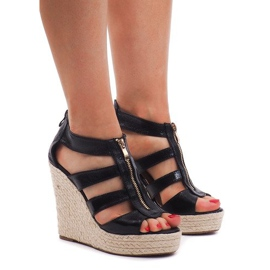 Kile sandaler 100-575 Sort